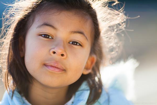 Retrato a Contraluz usando el sol como una luz de borde