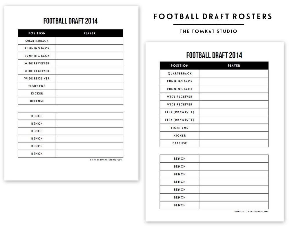 29 Fantasy Football Draft Worksheet Worksheet Project List