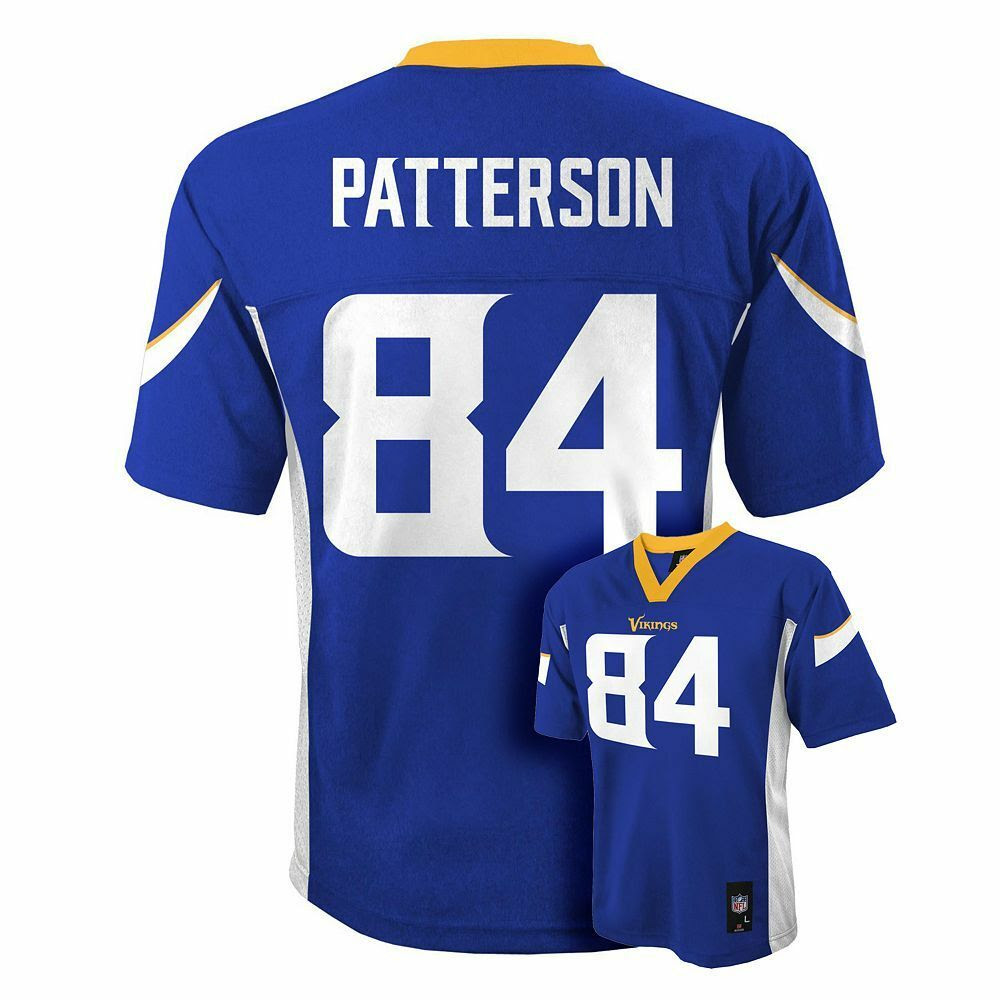 20162017 Vikings CORDARRELLE PATTERSON nfl Jersey YOUTH KIDS BOYS LLARGE eBay