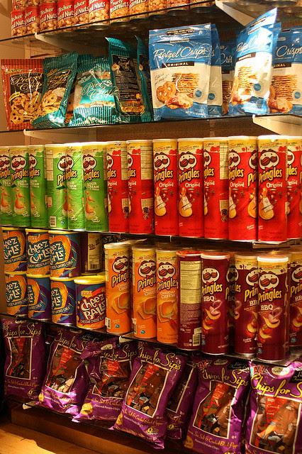 U.S. made Pringles!