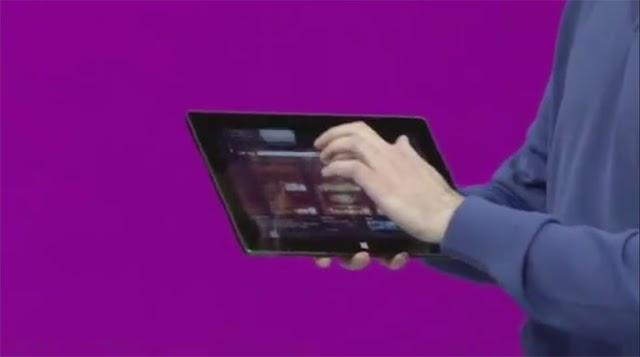 Novo tablet trava em apresentação e Microsoft paga mico