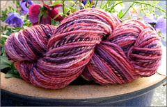 Cherry Cola Yarn