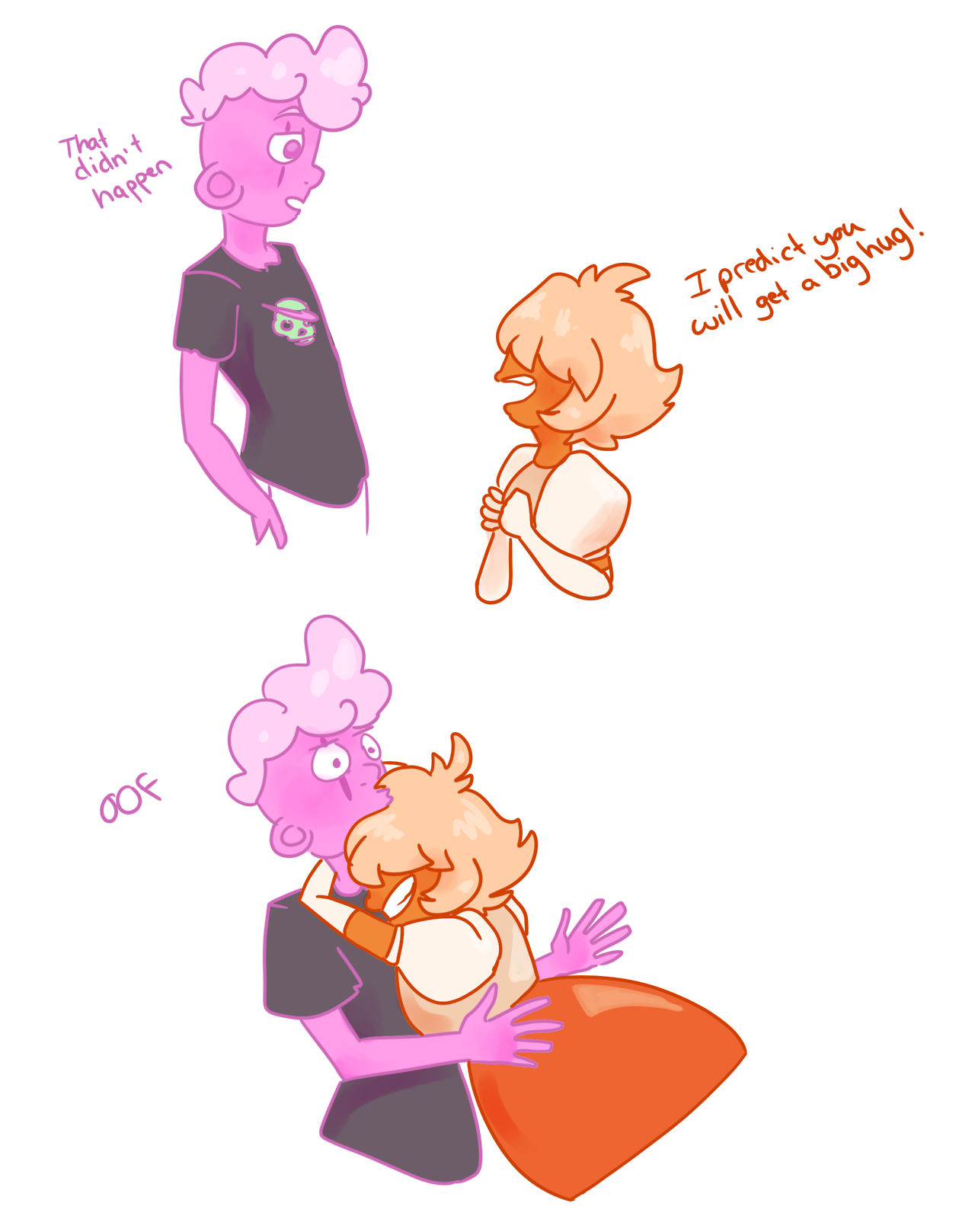 i…. i love paddlefish and cottoncandy. honeslty though Pad is so cute, i couldnt help but smile every time she opened her mouth. what a good gem. (if you like please reblog!)