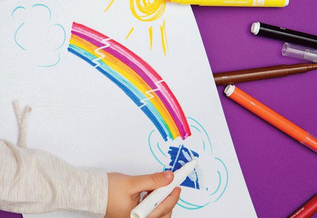 Gökkuşağı Renklerinde Boya Kalemleri Editörün Seçtikleri Haberleri
