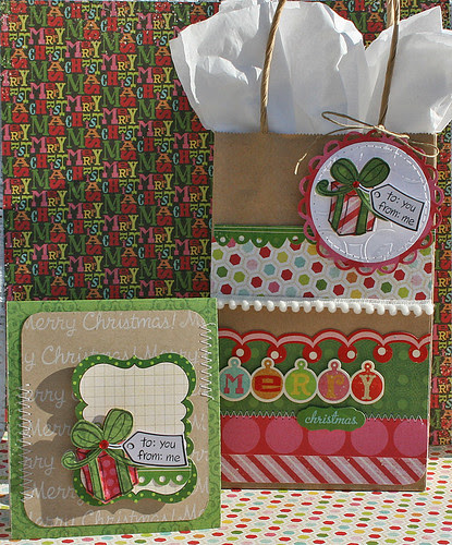 bows & holly assortment danni reid