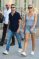 ryan seacrest shayna taylor couple up for nyc stroll 05