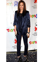 Leighton Meester wearing Earl Jeans