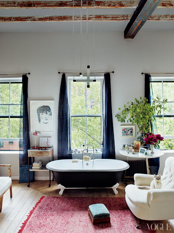 Vogue American Pastoral Miranda Brooks and Bastien Halard's Brooklyn Home 4
