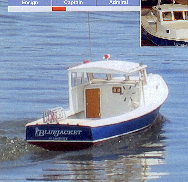 One secret: Model lobster boat plans Here