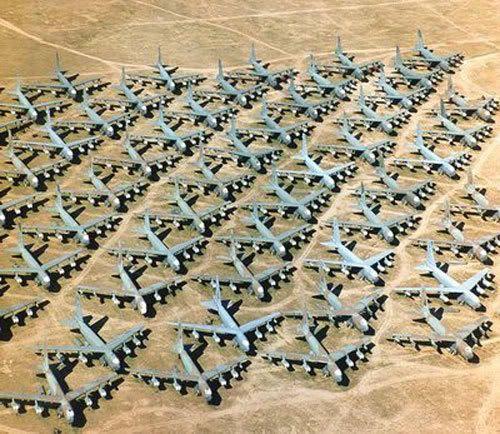 The Boneyard in Arizona.