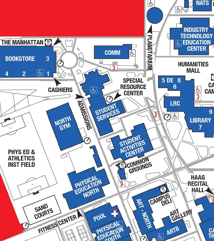 El Camino College Campus Map El Camino Campus Map | Earth Map