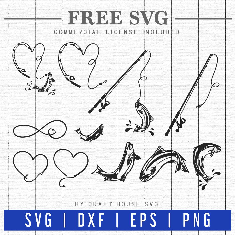 Download Free Fishing Svg Fb96 Craft House Svg