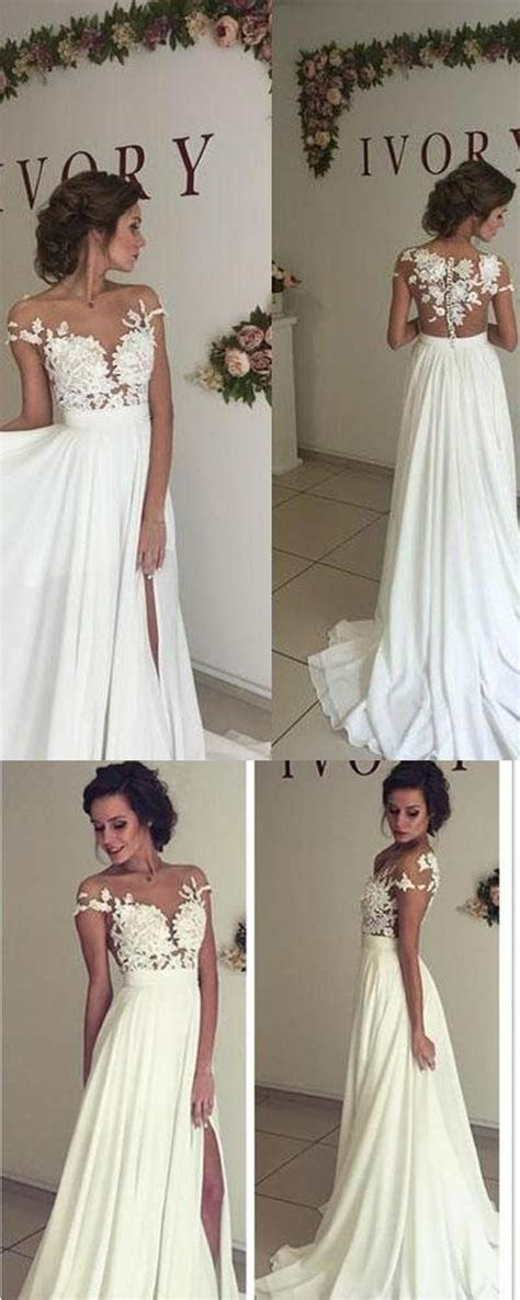 Best 25  Lace wedding gowns ideas on Pinterest   Lace