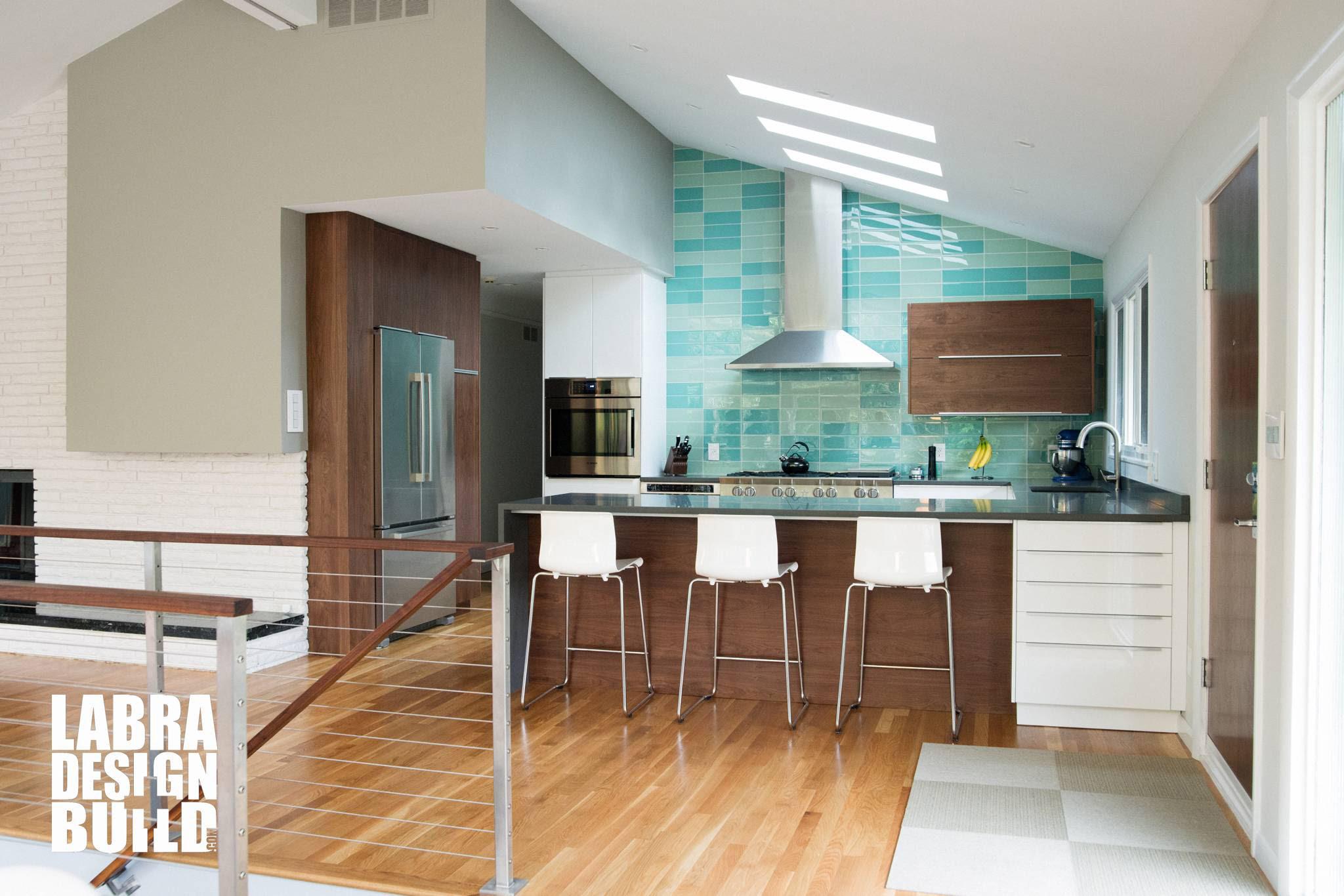 Mid Century Modern Kitchen Remodel - Franklin, Michigan