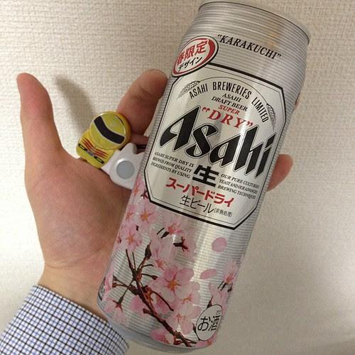 桜の季節です。