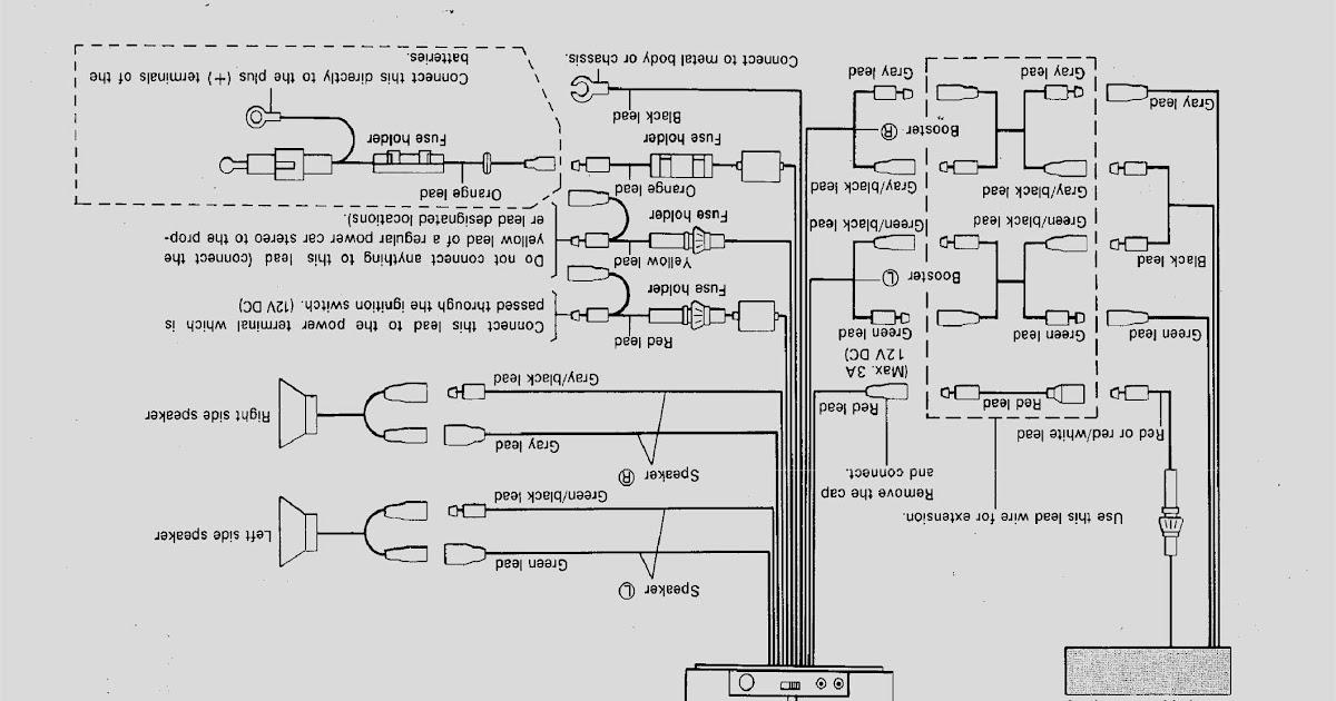 Wiring Diagram Kenwood Deck