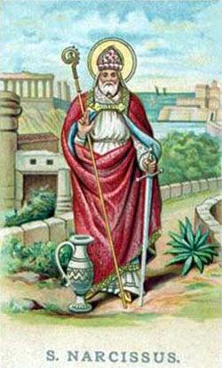 IMG ST. NARCISSUS of Jerusalem