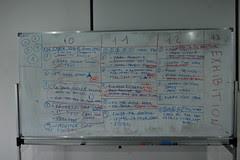 schedule board 3