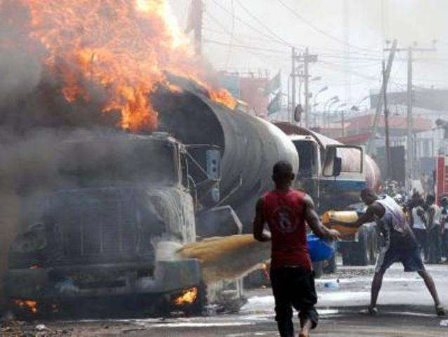 Thank God: Family Of Six Escapes Death In Otedola Bridge Tanker Explosion  thesupremecomedyskit.blogspot.com