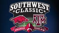 Southwest Classic: Arkansas v Texas A&M pre-sale password for show tickets in Arlington, TX (Cowboys Stadium)