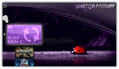 Install Custom Firmware 5.03 GEN-C on PSP 3000, 2000 TA-088v3 via ChickHEN R2 | PSP Hacks