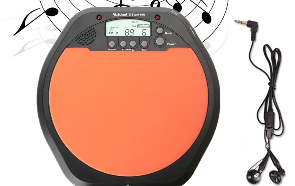 discount digital electric electronic drum pad for training practice metronome. Black Bedroom Furniture Sets. Home Design Ideas