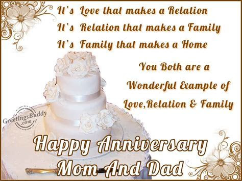 Anniversary Wishes To Parents From Children