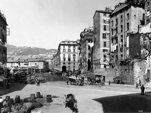 Piazza Cavour 1880