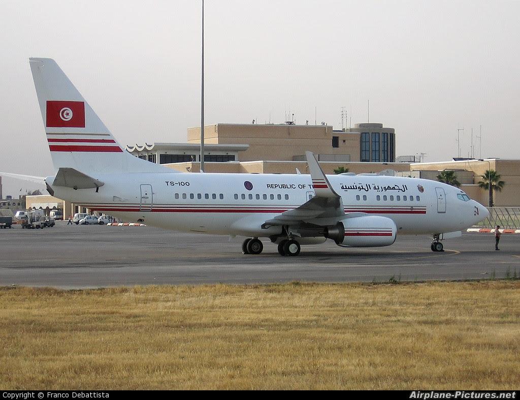 Tunisian Presidential Jet 737