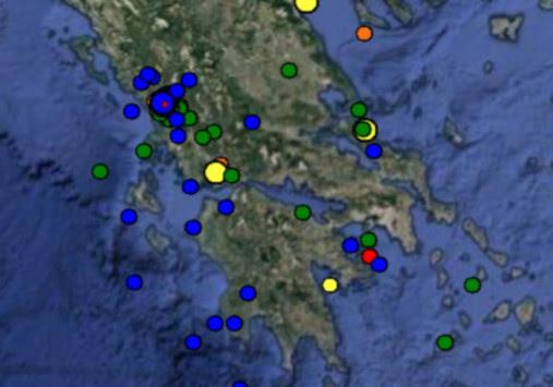 Σεισμός στην Άρτα ταρακούνησε την Ήπειρο - Έγινε αισθητός σε Γιάννενα και Πρέβεζα!