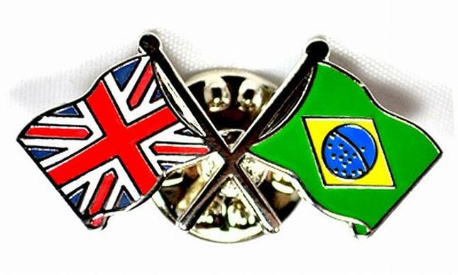 Brasil e Inglaterra (Foto: Arquivo Google)
