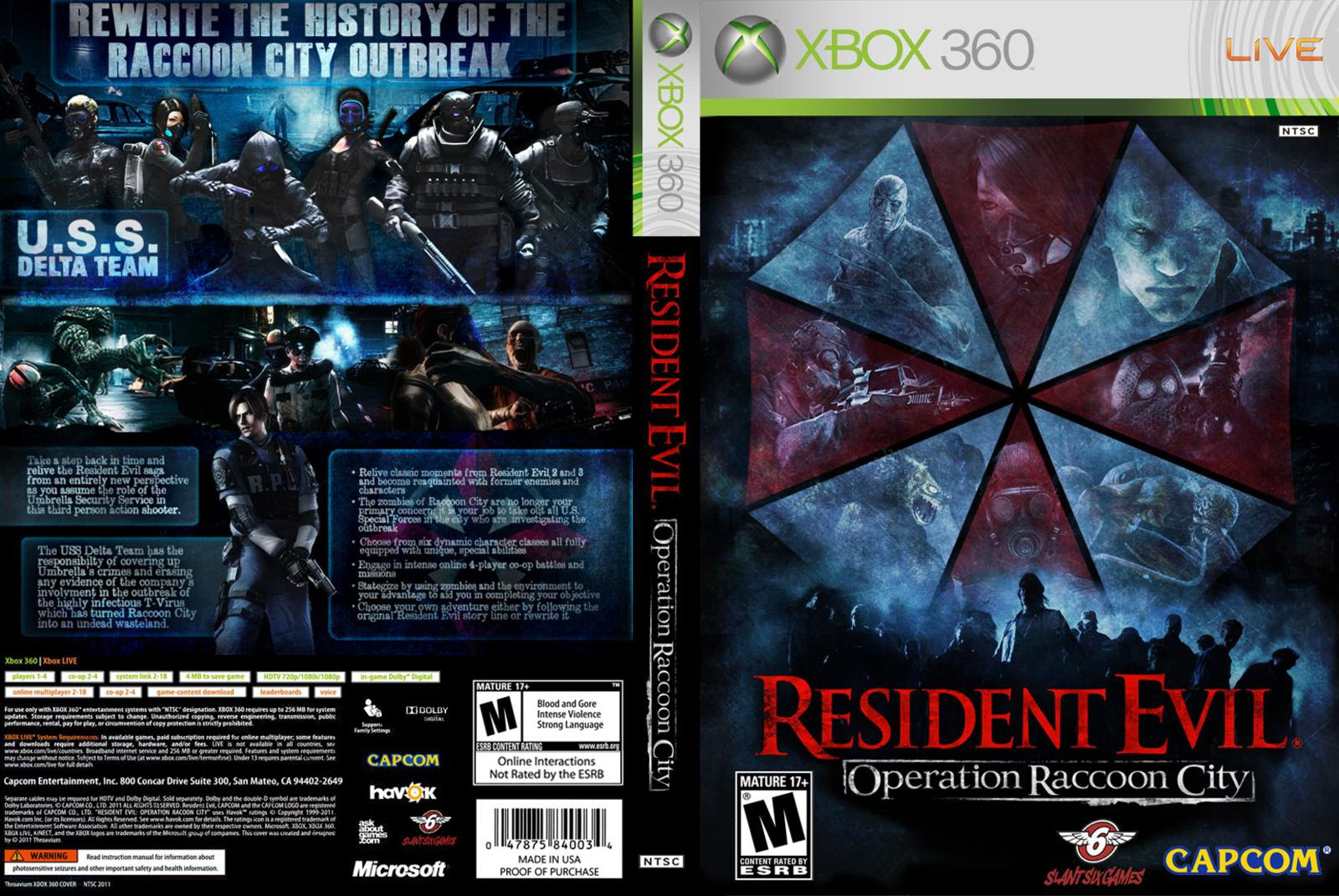Resident Evil Operation Raccoon City Wallpapers Game Info Center