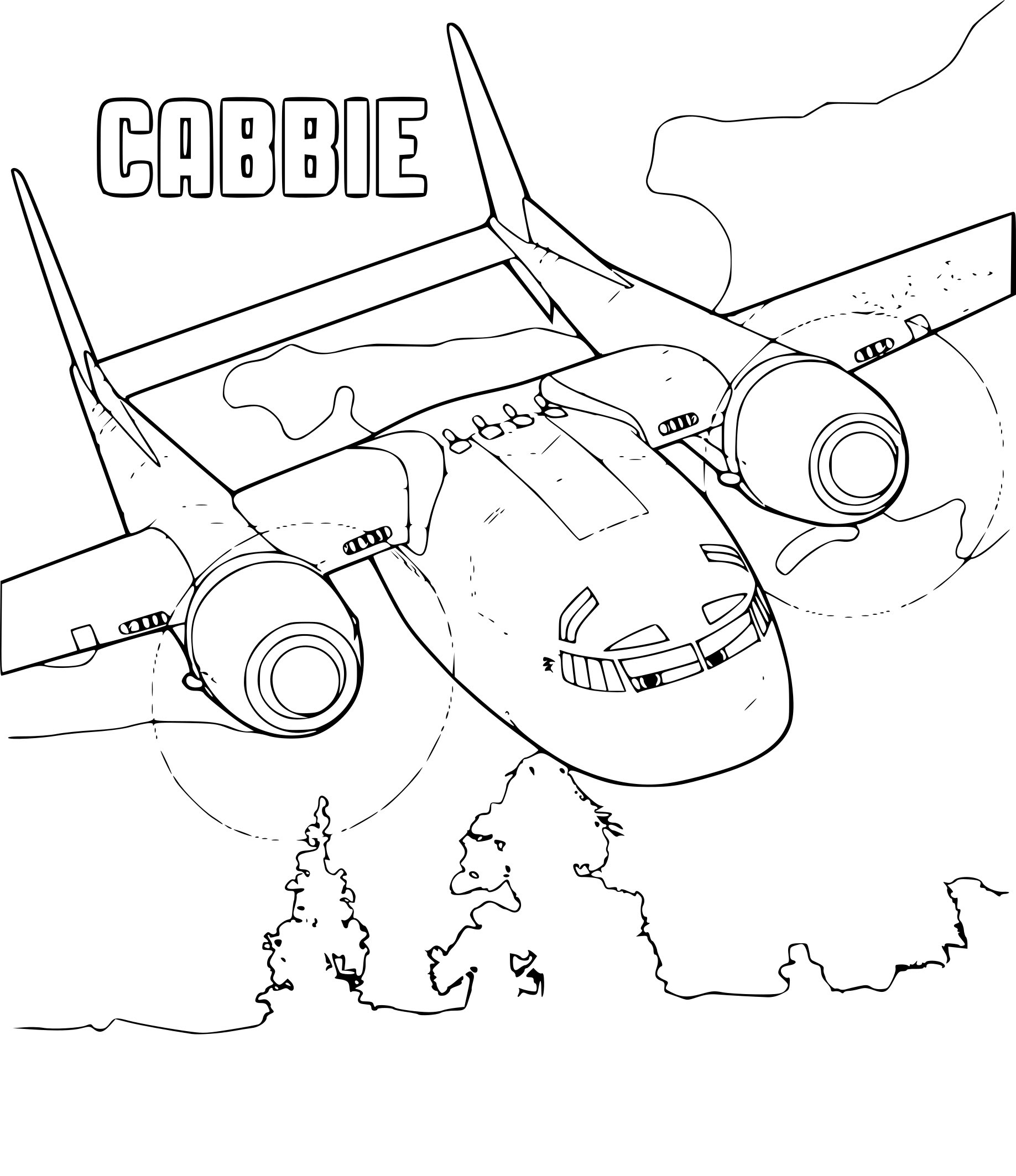Coloriage Planes 2 à Imprimer