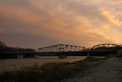 Redwood Bridge at Sunset