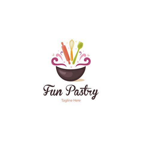 sale fun pastry logo design logo cowboy