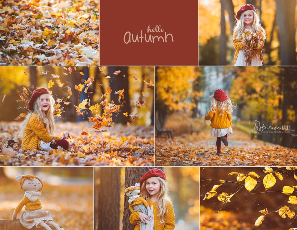 jesienny plener