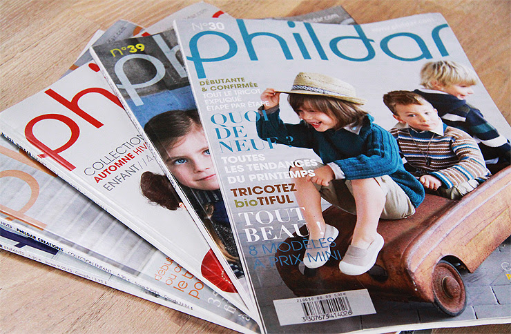 Phildar Magazines