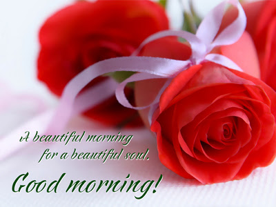 Good Morning Red Roses Flowers Wishes Ecard Good Morning Images