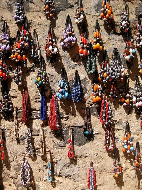 Beads on Gorée Island, Senegal
