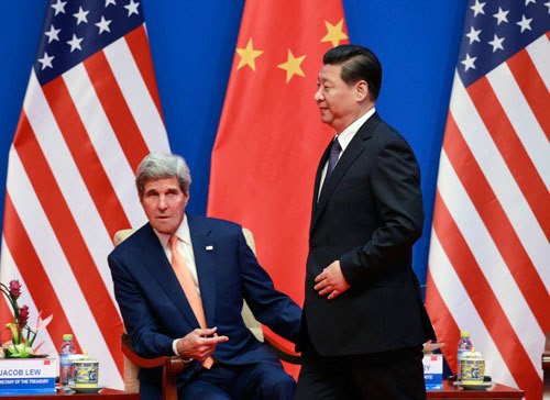 Mỹ, Trung, đối thoại chiến lược, biển Đông, giàn khoan, trỗi dậy hòa bình, ẩn mình chờ thời, hải quân, quân sự