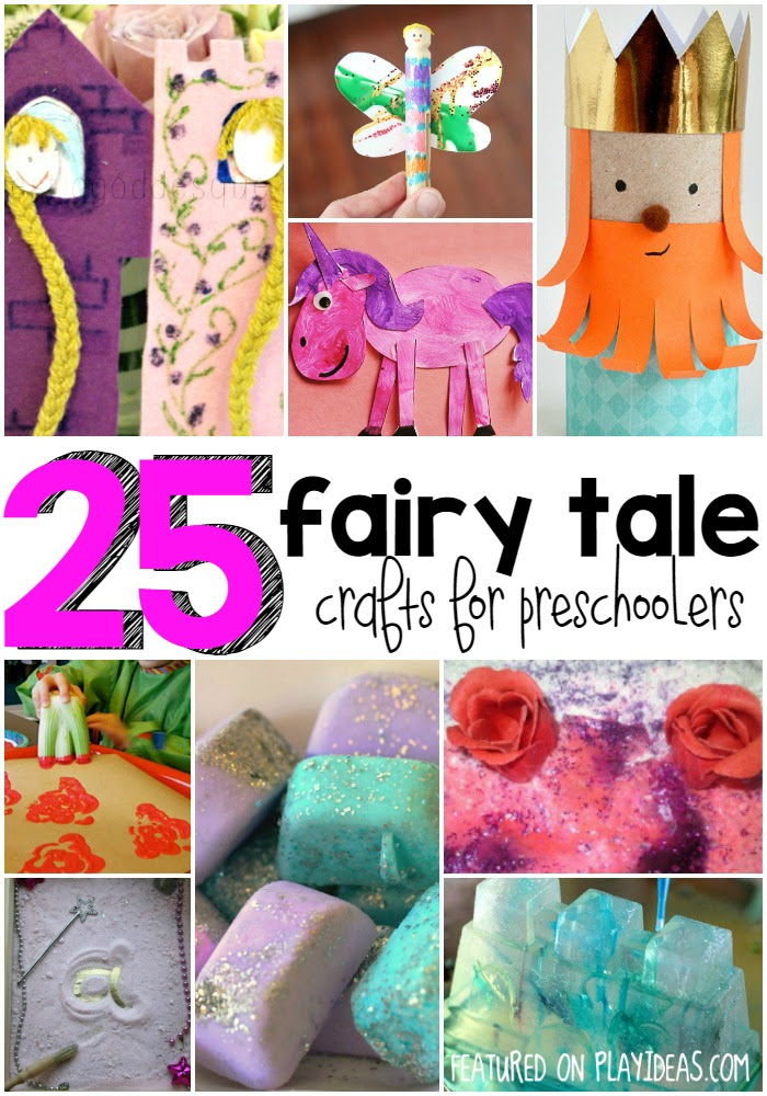 25 Fairy Tale Crafts For Preschoolers