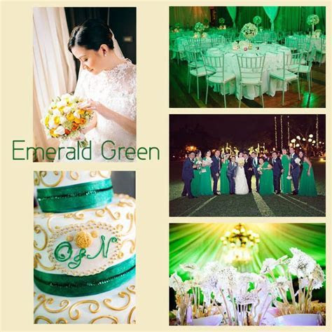 Emerald Green Motif   Marché Wedding Philippines