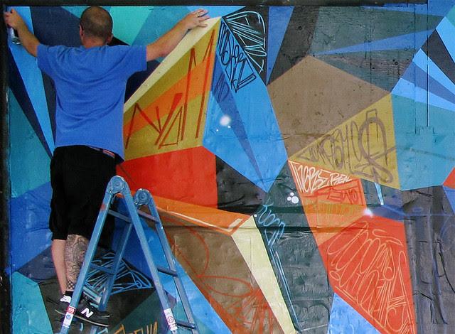 "JURNE X MWM : Seattle ""Science"" Collabo Mural."