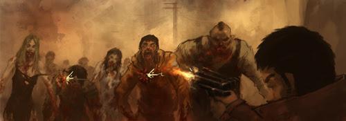 zombie attack comics