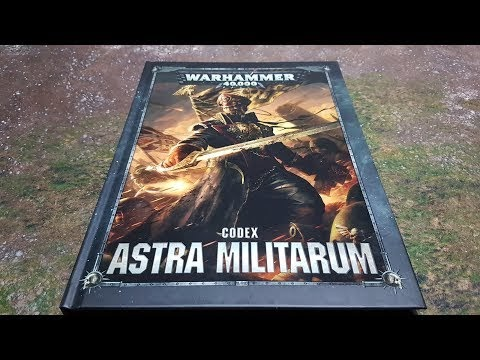 A Video Review of the Astra Militarum Codex
