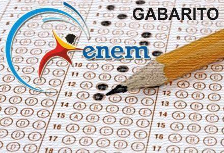 Gabarito oficial do ENEM 2013 é divulgado