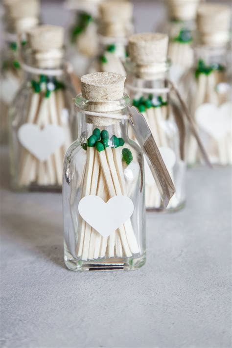 Wedding Matches // DIY Wedding Favors   Platings   Pairings