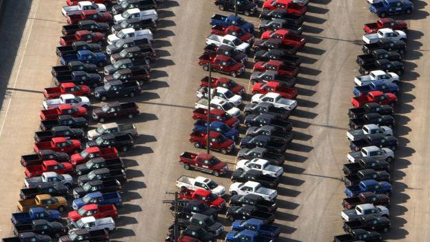 Producción automotriz en EE.UU.
