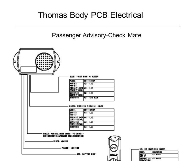 Thomas Built Buses Wiring Diagrams