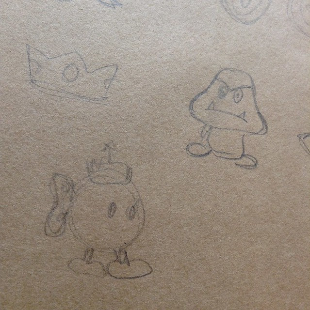 Mario week sketches